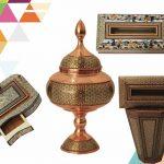 خاتم کاری در بورس صنایع دستی هنر دیبا