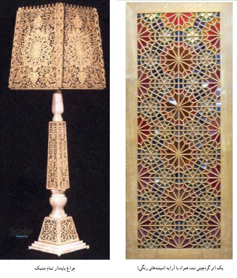 اثر گره چینی -هنرهای صنایع دستی چوبی