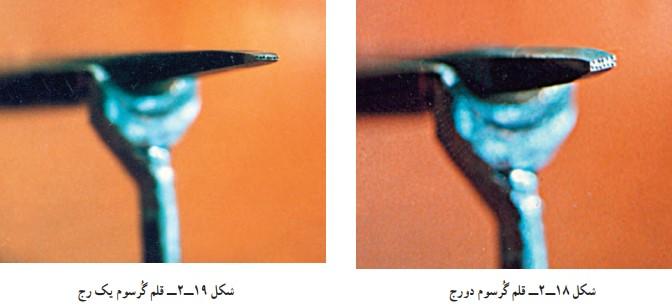 قلم گُرسُوم در کارگاه قلمزنی صنایع دستی