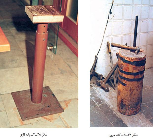 کُنده در کارگاه قلمزنی صنایع دستی