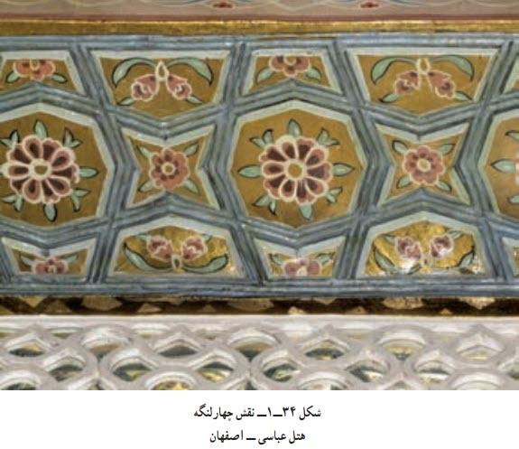 نقش چهارلنگه هتل عباسی ــ اصفهان