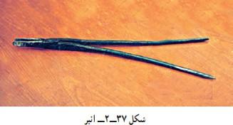 انبر در کارگاه قلمزنی صنایع دستی